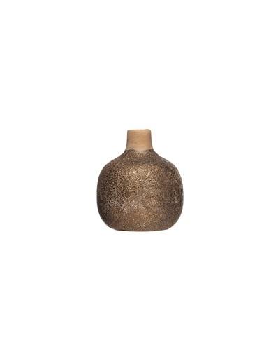 Warm Design Terracotta Vazo Kahve